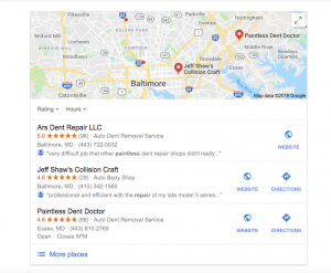 Twenty Tips to Help Rank Your PDR Business in Local Search