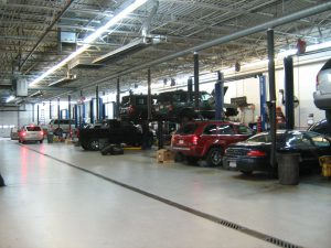 Dealership Service Shop 1