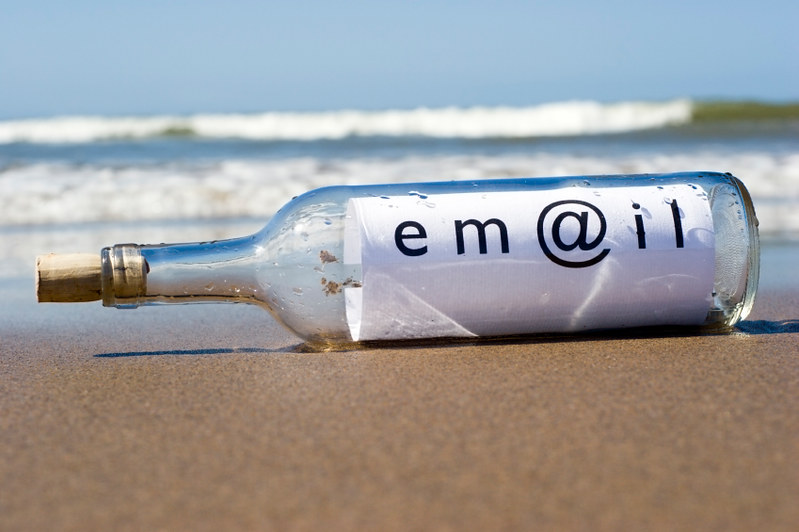 Email in bottle