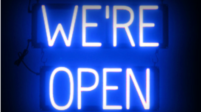 Were Open Sign