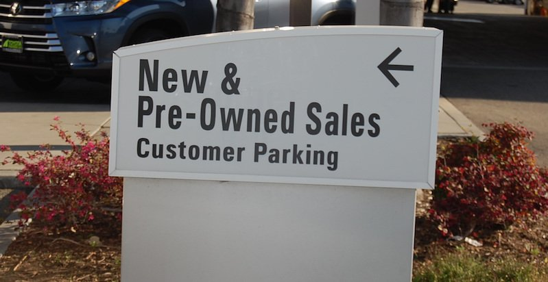 New and Pre-owned Sales