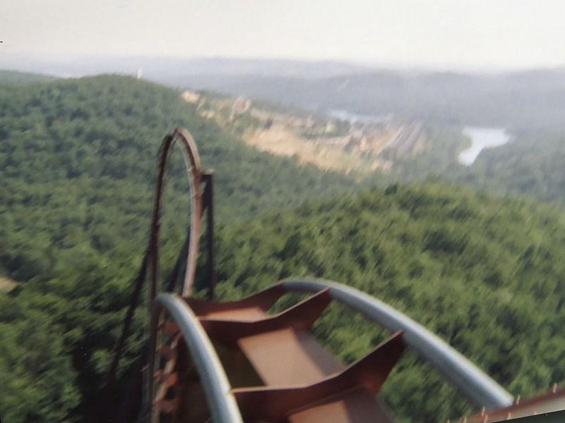 Roller Coaster Crest